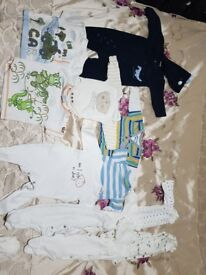 Bundle baby boy clothes 0/3