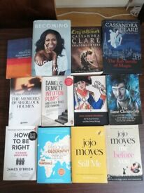 Selling Books 3£ each.