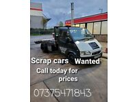 ⭐SCRAP CARS WANTED CALL TODAY CASH TODAY⭐