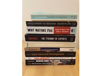 10x International Development Studies Books - Ideal for University