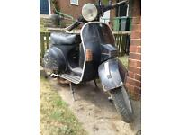 Vespa PX200E for restoration