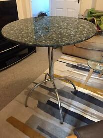 Granite breakfast bar kitchen table