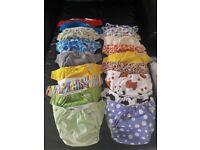 BABA BOO reusable nappies - 5 pound each