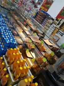 Shop deli Serve over counter fridge