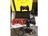 Playstation 2 Console PS2 Console Boxed with 2 Controllers