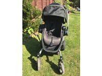 Graco symbio pushchair and carrycot