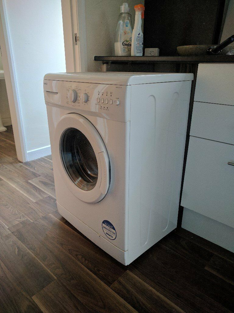 Beko 5kg washing mashine mint conditionin Warrington, CheshireGumtree - Model WM5121W 5kg load capacity, front loading, drum washer 45cm deep, 85cm high, 59.5cm wide 16 Wash Presets Less than 1.5 years old, works perfectly This model is still sold in stores for £175 Selling because moving in with boyfriend and dont need...