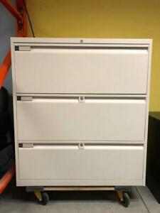 Teknion 3 Drawer Lateral Filing Cabinet - $250.00