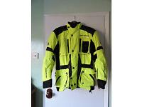Womans Hein Gericke Motocycle Jacket size 12