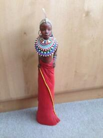 "Soul Journey Maasai Limited Edition Figurine ""Full of Song"""