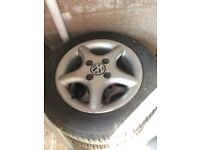 Vw alloys 4 stud