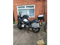Bmw r1200 GS full luggages,low milage, more extra features
