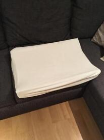 John Lewis Wedge baby changing mat with cover