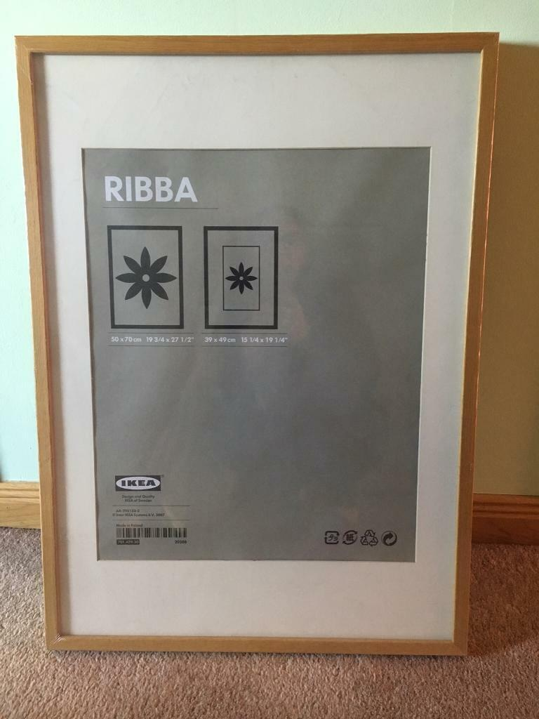 Ikea Ribba Frame Oak 50 X 70 Cm