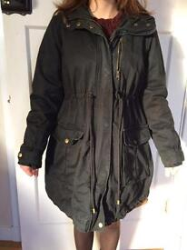 Maternity casual winter coat size small by H and M