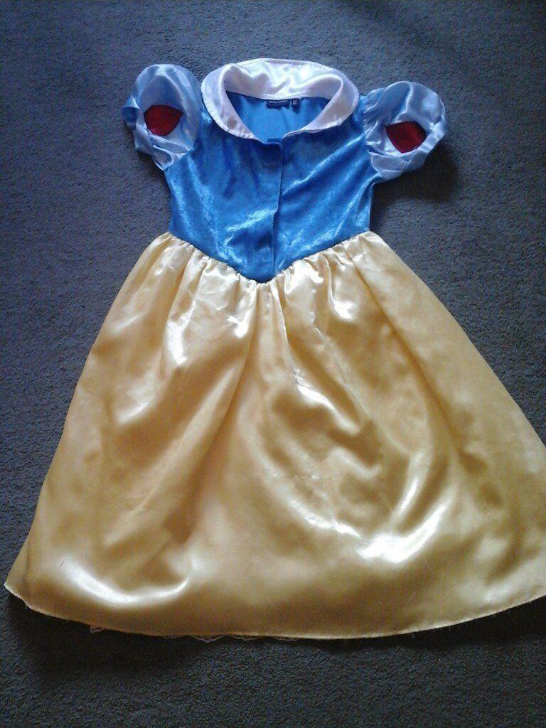 Various Princess dresses