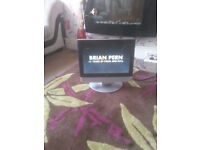 """for sale small 15"""" hd lcd widescreen tv with freeview £15"""