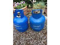 Calor gas 4.5kg empty bottles