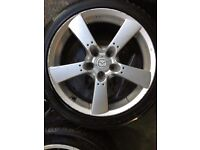 Mazda RX8 wheels wanted