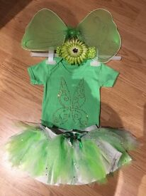 Neon green, 4 piece outfit - age 6-12 months
