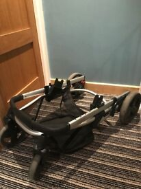 A complete mothercare travel system