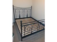 Lovely King-size bed frame, no longer needed.