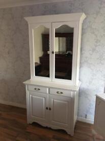 Edwardian painted bookcase