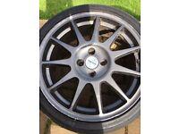 17 inch Speedline Turini alloys. Renault Clio 182/ 172