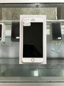 Brand New, Apple, iPhone 8 Plus, 64GB, Silver on O2 (Unlocking in Process) Boxed!