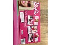 Barbie Story book / car