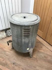 Vintage Galvanised Washing Machine/Dolly Tub