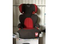 Graco Logico L Highback Booster Car Seat in Black and Chilli