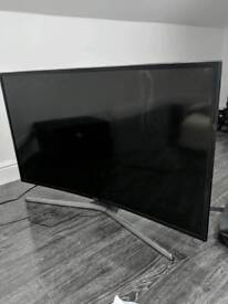 "Samsung 40"" curved UHD tv For parts"