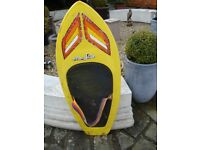 HYDRO SLIDE BODY / KNEE BOARD 53INCH LONG 21INCH WIDE IN GOOD USED CONDITION ONLY £35 FOR QUICK SALE