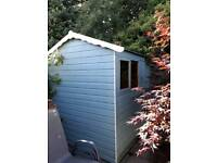 6ft x 7ft Garden Shed