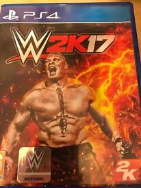 W2k17 PS4 game