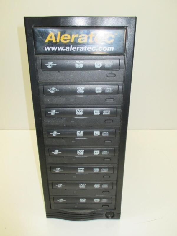 Aleratec 1:8 DVD/CD Tower Publisher HLX Duplicator +LightScribe eSATA Connection