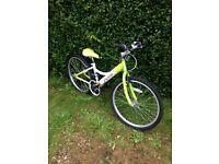 """Pro Bike Spring. Girl's bike. Excellent condition. 24"""" wheels. Shimano Gears (x18). £70"""