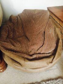 Beanbag - beige, Dunelm bean chair