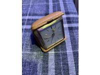 Vintage antique German Kienzle travel alarm clock