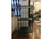 Glass top Metal 3 Shelf Display Unit - 2 Available (Shop Clearance)