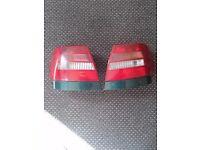 Audi A4 rearlights