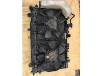 Subaru twin fans and radiator