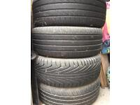 Tyres only or buy as set VW Golf Borra Wheels /tyres 205x55