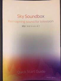 Sky Sound Box made by high end audio company Devaliet. New/ boxed.