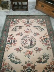 Lovely lounge rug in wool 200 cms by 140