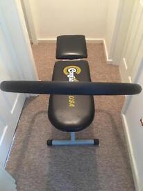 Ab sit up machine