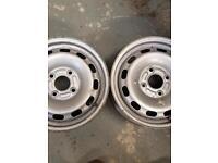 Ford 14 inch steel wheels