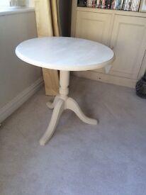Circular Side Table/LampTable