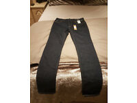 RIVER ISLAND SKINNY JEANS MENS 30 X 30 BRAND NEW WITH TAGS RRRP £40